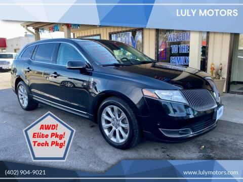 2014 Lincoln MKT for sale at Luly Motors in Lincoln NE