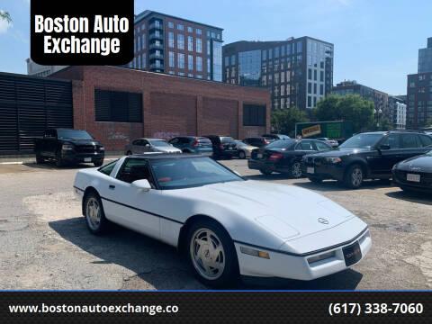 1989 Chevrolet Corvette for sale at Boston Auto Exchange in Boston MA