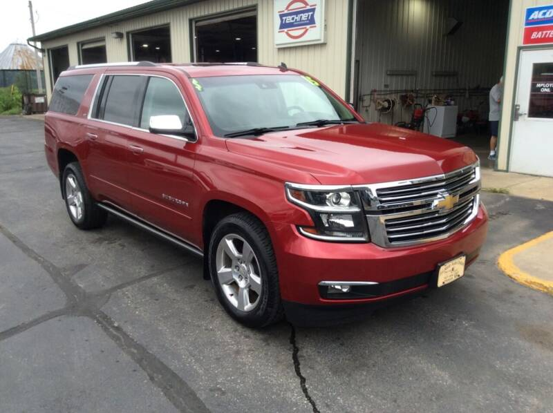 2015 Chevrolet Suburban for sale at TRI-STATE AUTO OUTLET CORP in Hokah MN