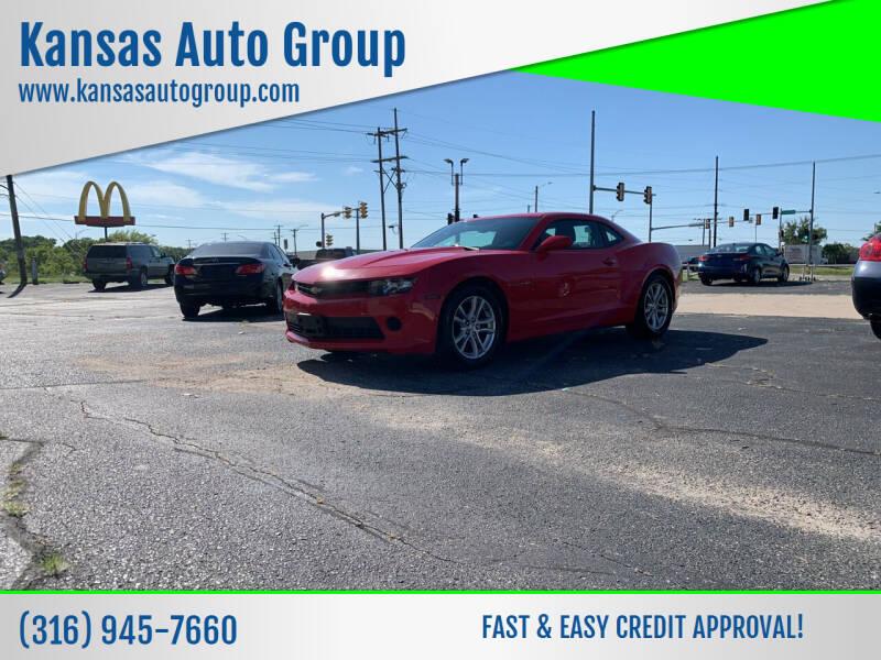 2014 Chevrolet Camaro for sale at Kansas Auto Group in Wichita KS