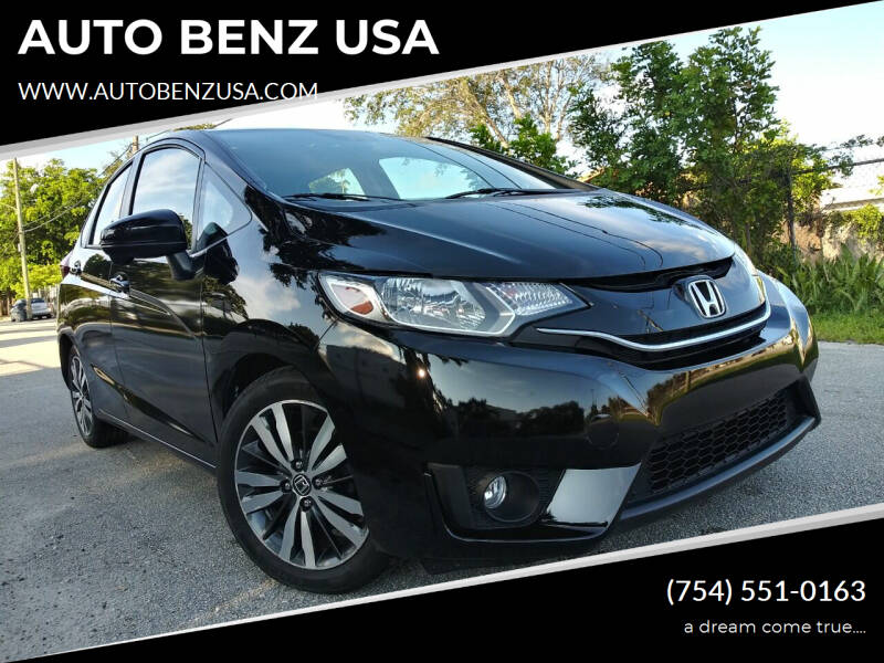 2016 Honda Fit for sale at AUTO BENZ USA in Fort Lauderdale FL