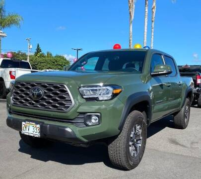 2021 Toyota Tacoma for sale at PONO'S USED CARS in Hilo HI
