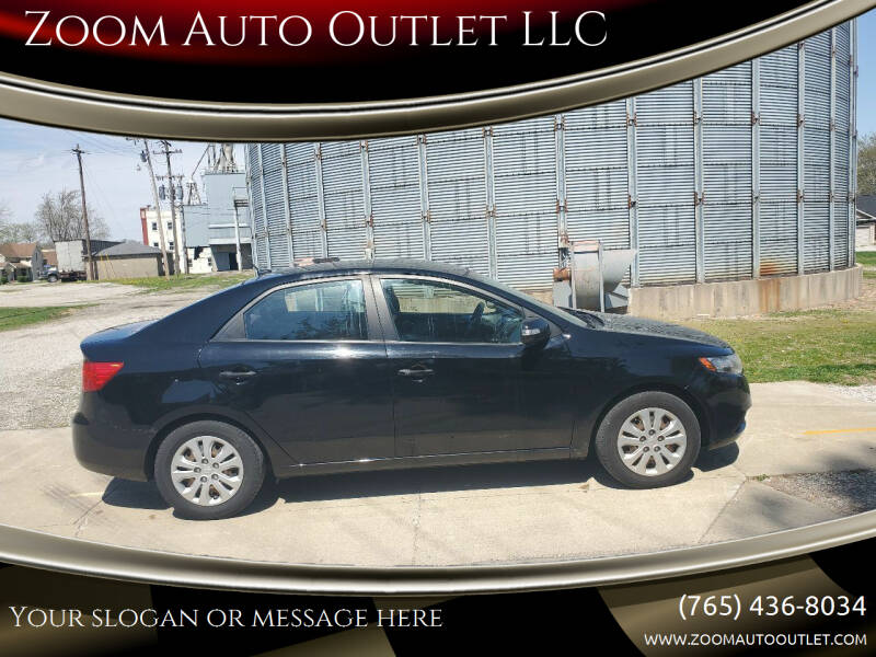 2010 Kia Forte for sale at Zoom Auto Outlet LLC in Thorntown IN