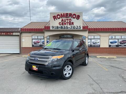 2014 Ford Explorer for sale at Romeros Auto Center in Tulsa OK