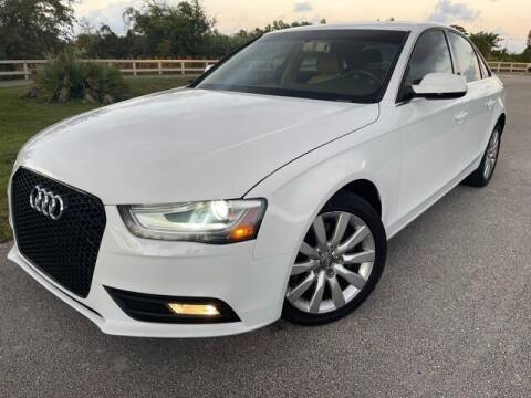 2013 Audi A4 for sale at Deerfield Automall in Deerfield Beach FL