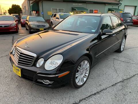 2008 Mercedes-Benz E-Class for sale at ASHLAND AUTO SALES in Columbia MO
