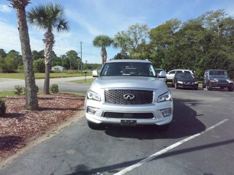 2015 Infiniti QX80 for sale at First Choice Auto Inc in Little River SC
