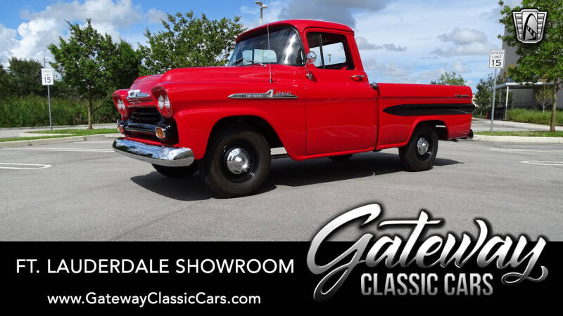 1958 Chevrolet Apache for sale in Coral Springs, FL