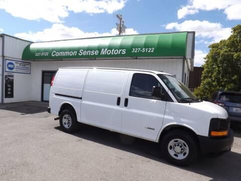 2006 Chevrolet Express Cargo for sale at Common Sense Motors in Spokane WA