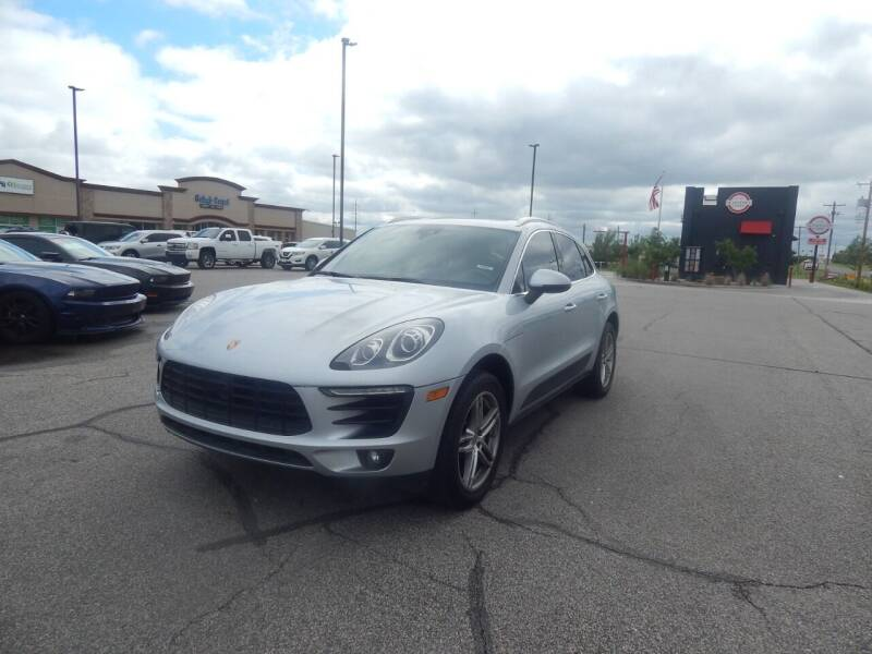 2015 Porsche Macan for sale at Iconic Motors of Oklahoma City, LLC in Oklahoma City OK
