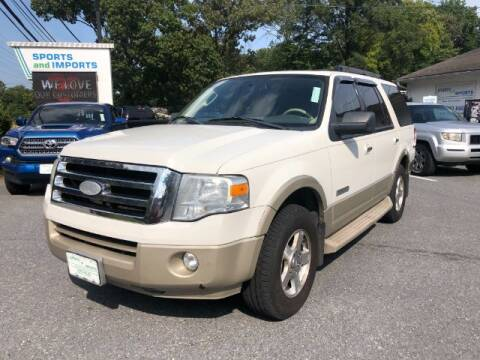 2008 Ford Expedition for sale at Sports & Imports in Pasadena MD