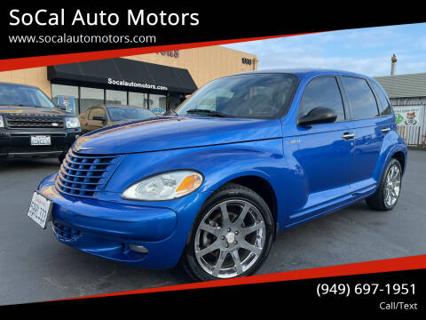 2003 Chrysler PT Cruiser for sale at SoCal Auto Motors in Costa Mesa CA