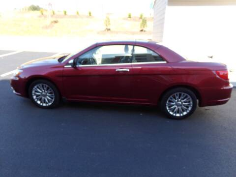 2011 Chrysler 200 Convertible for sale at West End Auto Sales LLC in Richmond VA