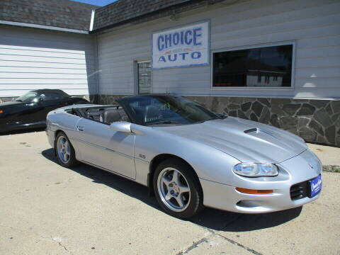 2002 Chevrolet Camaro for sale at Choice Auto in Carroll IA
