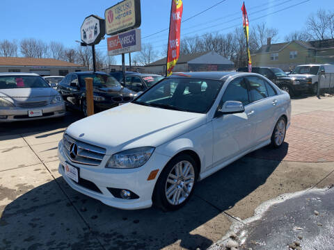 2008 Mercedes-Benz C-Class for sale at Viscuso Motors in Hamden CT