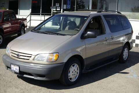2002 Toyota Sienna for sale at Sports Plus Motor Group LLC in Sunnyvale CA