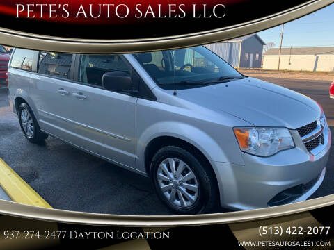 2012 Dodge Grand Caravan for sale at PETE'S AUTO SALES LLC - Dayton in Dayton OH