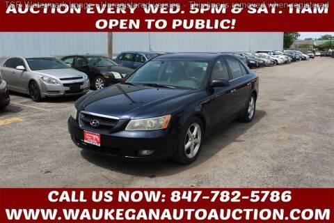2006 Hyundai Sonata for sale at Waukegan Auto Auction in Waukegan IL