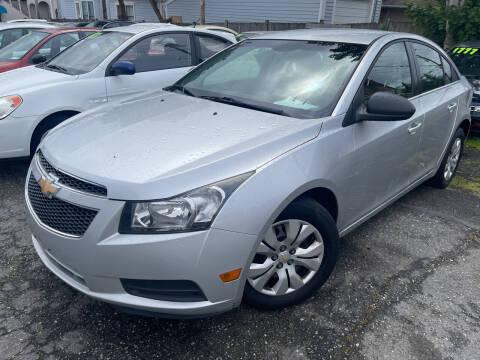 2012 Chevrolet Cruze for sale at American Dream Motors in Everett WA