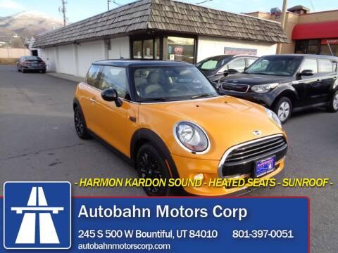 2017 MINI Hardtop 2 Door for sale at Autobahn Motors Corp in Bountiful UT