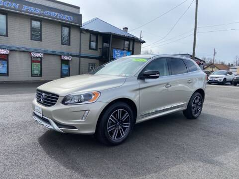 2017 Volvo XC60 for sale at Sisson Pre-Owned in Uniontown PA
