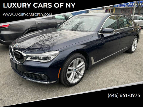 2018 BMW 7 Series for sale at LUXURY CARS OF NY in Queens NY