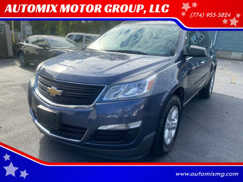2014 Chevrolet Traverse for sale at AUTOMIX MOTOR GROUP, LLC in Swansea MA