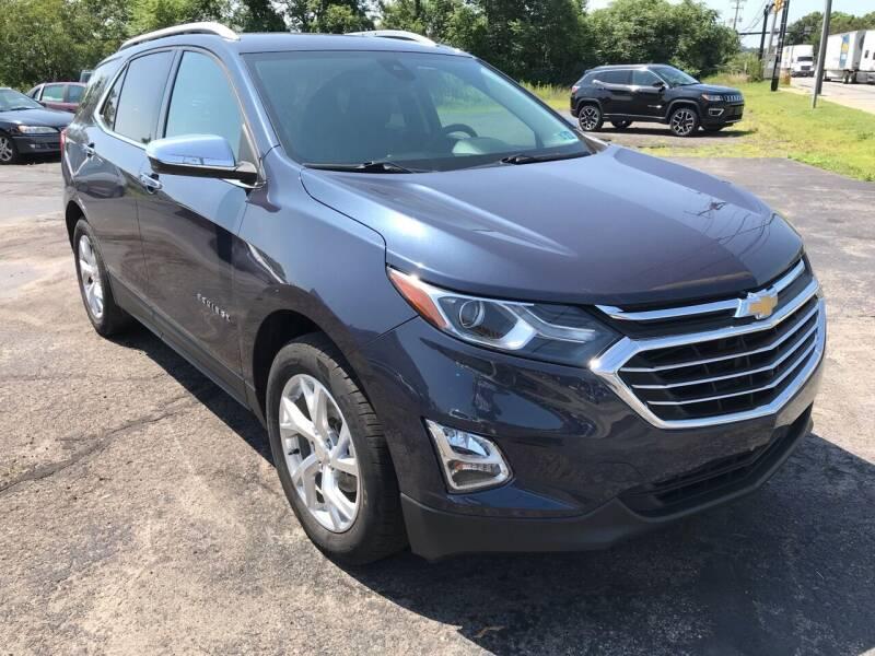 2018 Chevrolet Equinox for sale at Rinaldi Auto Sales Inc in Taylor PA