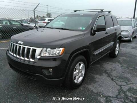2013 Jeep Grand Cherokee for sale at Matt Hagen Motors in Newport NC