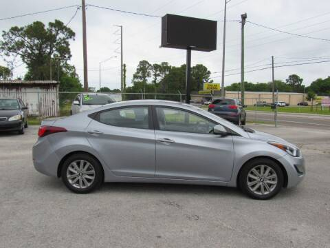 2016 Hyundai Elantra for sale at Checkered Flag Auto Sales EAST in Lakeland FL