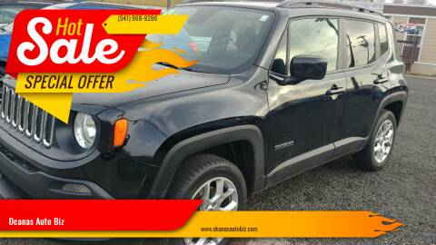2017 Jeep Renegade for sale at Deanas Auto Biz in Pendleton OR