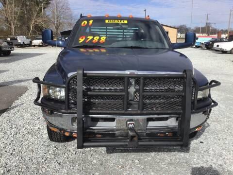 2001 Dodge Ram Pickup 3500 for sale at K & E Auto Sales in Ardmore AL