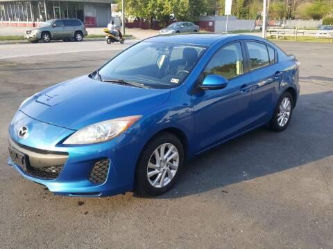 2012 Mazda MAZDA3 for sale at Premier Auto Sales Inc. in Newport News VA