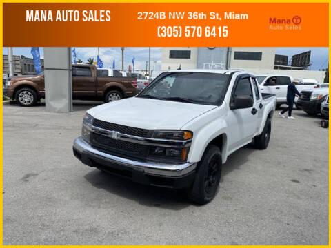 2008 Chevrolet Colorado for sale at MANA AUTO SALES in Miami FL