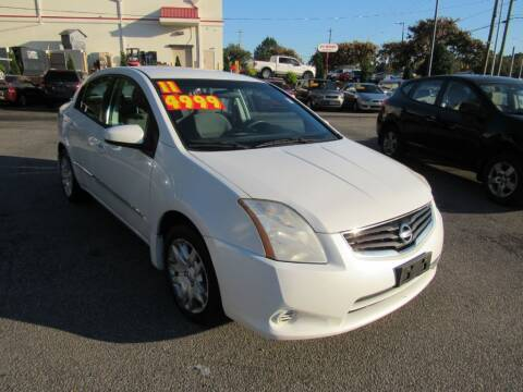2011 Nissan Sentra for sale at Auto Bella Inc. in Clayton NC