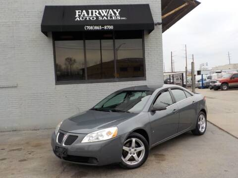 2009 Pontiac G6 for sale at FAIRWAY AUTO SALES, INC. in Melrose Park IL