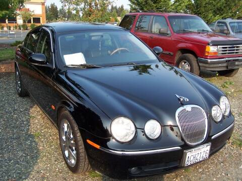 2005 Jaguar S-Type for sale at M & M Auto Sales LLc in Olympia WA