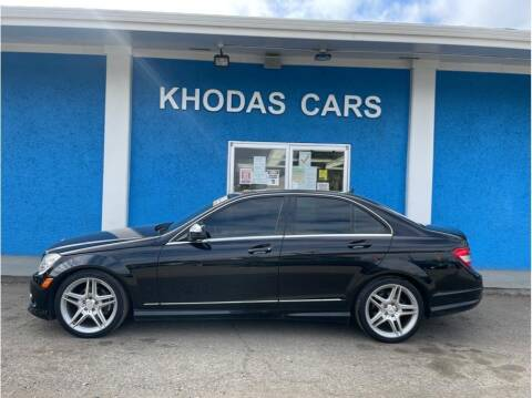 2009 Mercedes-Benz C-Class for sale at Khodas Cars in Gilroy CA