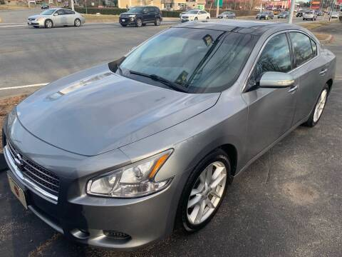 2009 Nissan Maxima for sale at BORGES AUTO CENTER, INC. in Taunton MA