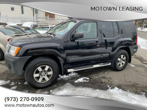 2011 Nissan Xterra for sale at Motown Leasing in Morristown NJ
