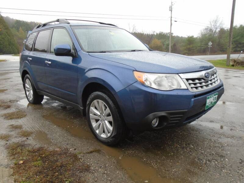 2011 Subaru Forester for sale at Wimett Trading Company in Leicester VT