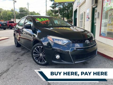 2014 Toyota Corolla for sale at Automan Auto Sales, LLC in Norcross GA