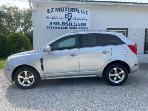 2014 Chevrolet Captiva Sport for sale at EZ Motors in Deerfield OH