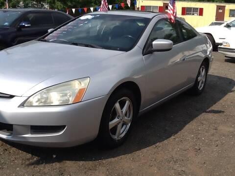 2003 Honda Accord for sale at Lance Motors in Monroe Township NJ