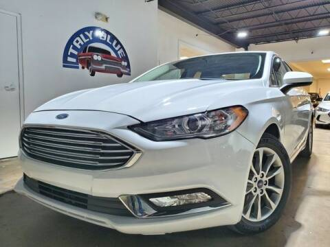 2017 Ford Fusion for sale at Italy Blue Auto Sales llc in Miami FL
