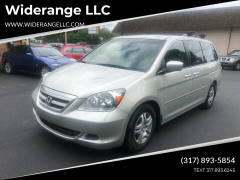 2005 Honda Odyssey for sale at Widerange LLC in Greenwood IN