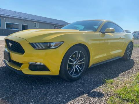 2017 Ford Mustang for sale at FAST LANE AUTOS in Spearfish SD
