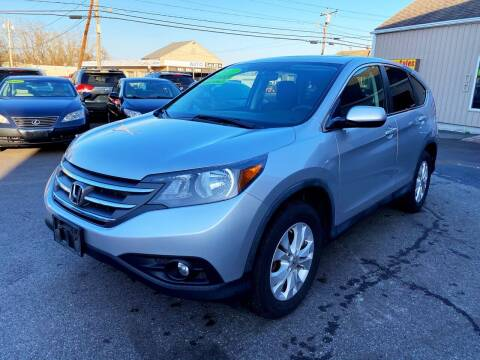 2012 Honda CR-V for sale at Dijie Auto Sale and Service Co. in Johnston RI