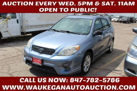 2008 Toyota Matrix for sale at Waukegan Auto Auction in Waukegan IL