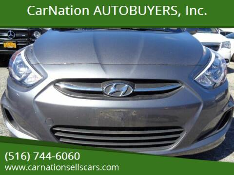 2016 Hyundai Accent for sale at CarNation AUTOBUYERS, Inc. in Rockville Centre NY